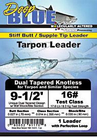 Dual Taper Knotless Tarpon Leader Dual Taper Knotless Tarpon Leader