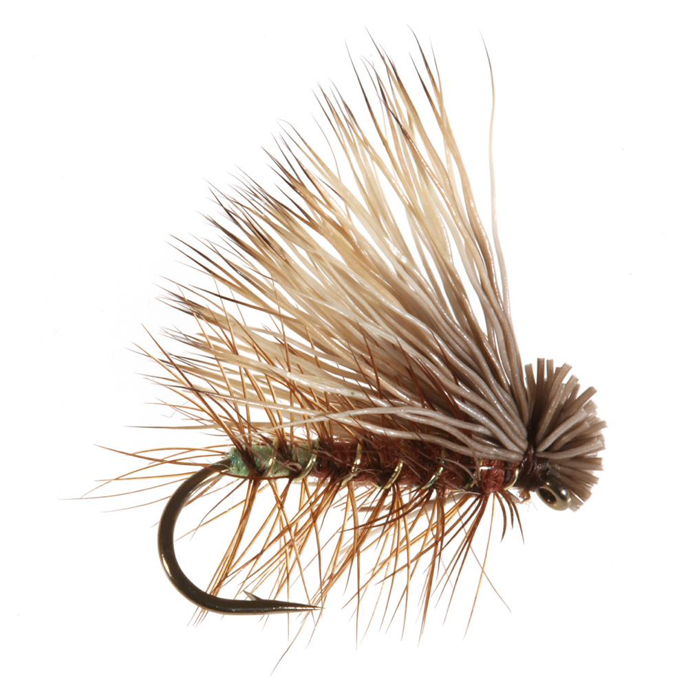 Elk Hair Caddis, Brown Elk Hair Caddis, Brown