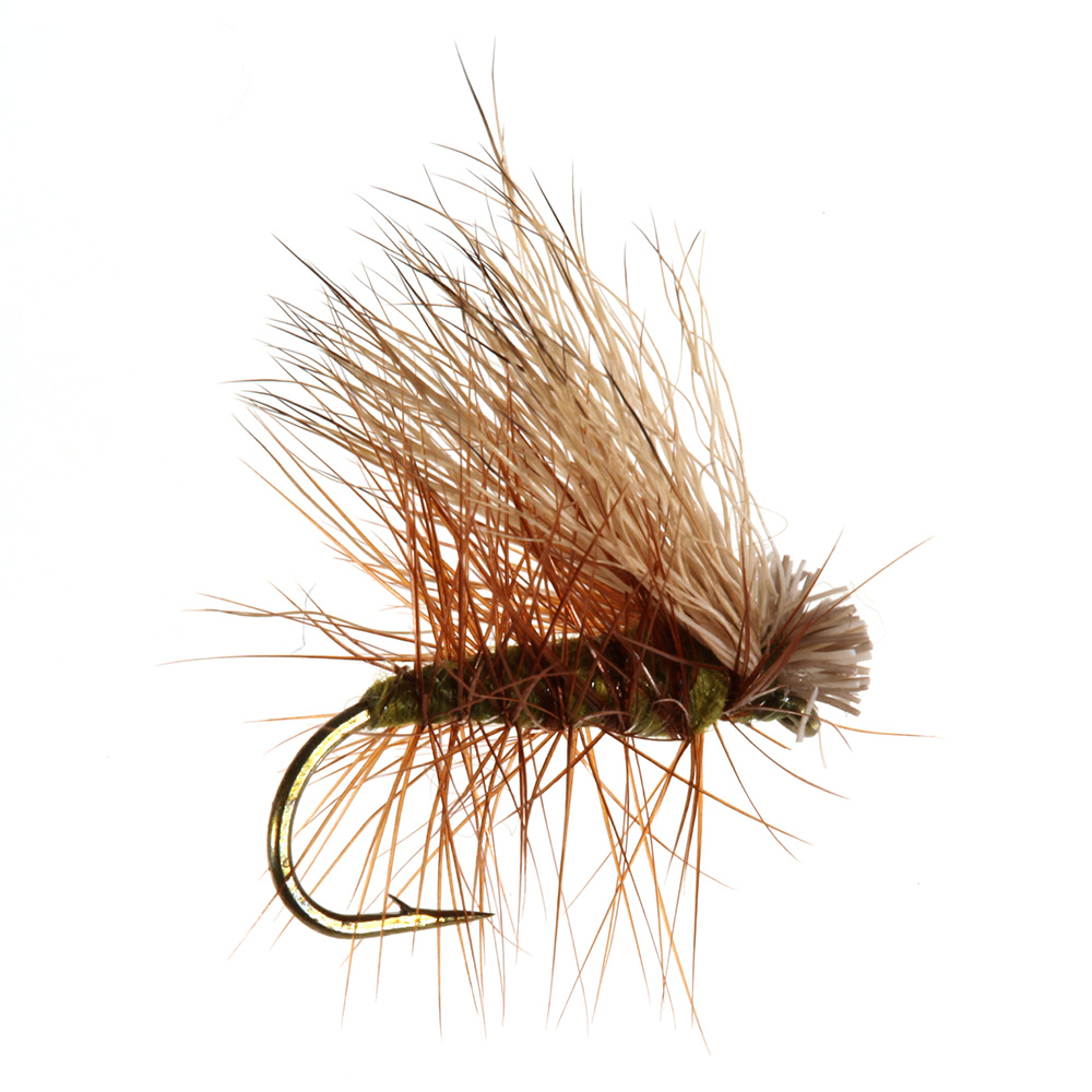Elk Hair Caddis, Olive Elk Hair Caddis, Olive