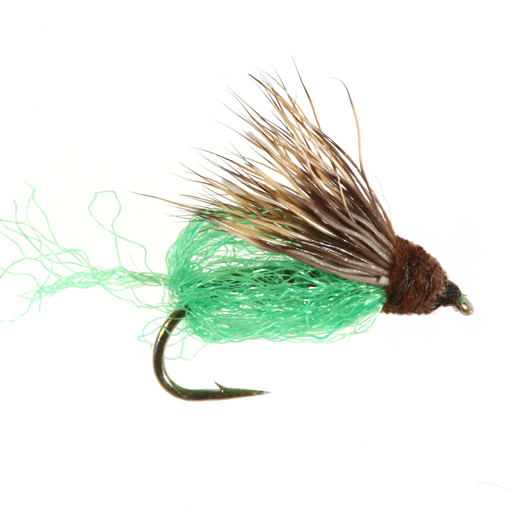 Emergent Sparkle Pupa, Brown/Bright Green Emergent Sparkle Pupa, Brown/Bright Green