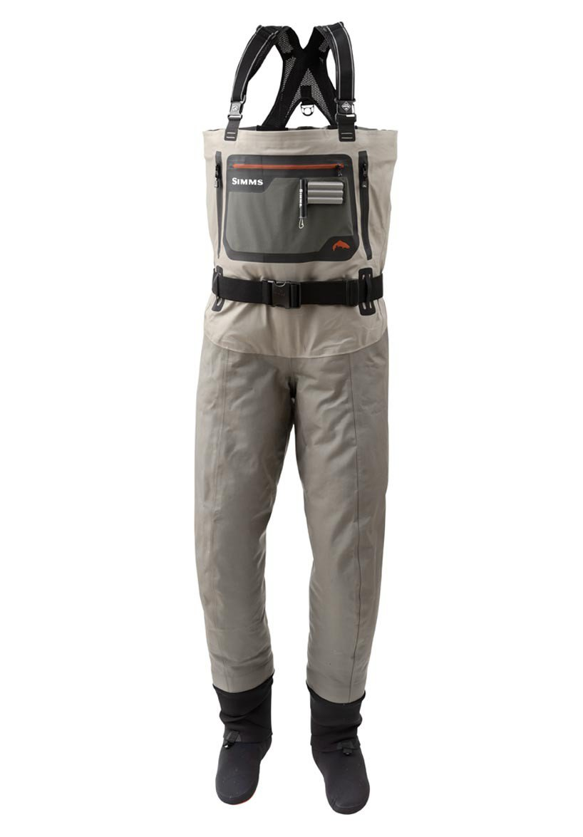Simms G4 Pro Stockingfoot Breathable waders are the most durable waders available, picture