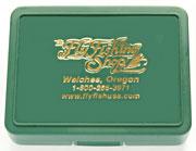 Small Size Interlocking Fly Box, with flat foam bottom Small Size Interlocking Fly Box, with flat foam bottom