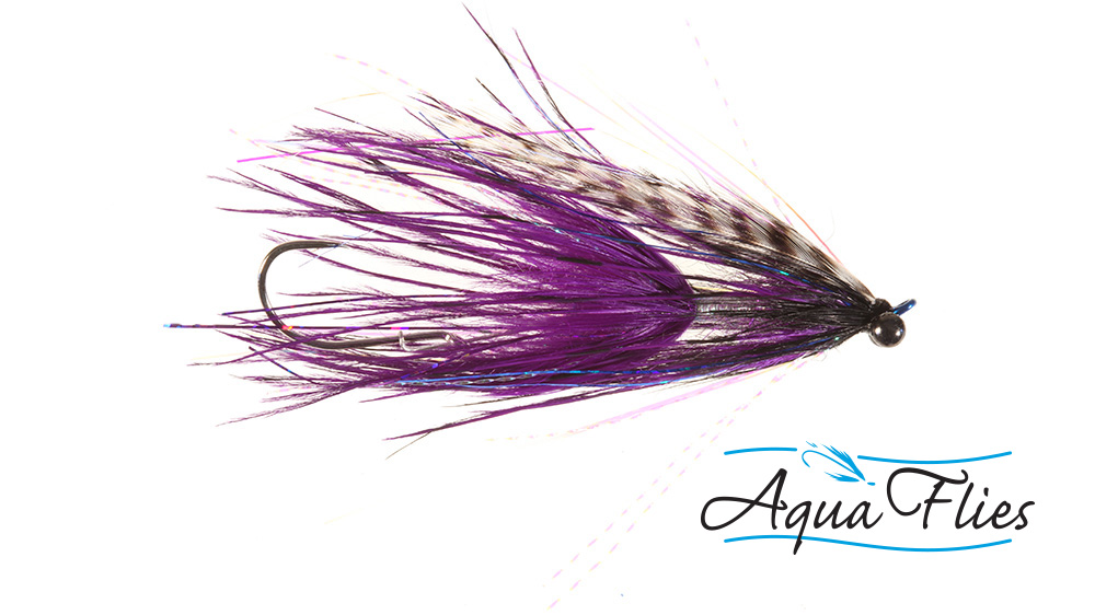 Stus Barred Ostrich Intruder, Black/Purple