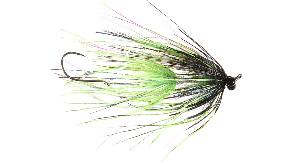 Stus Barred Ostrich Intruder, Chartreuse/Black