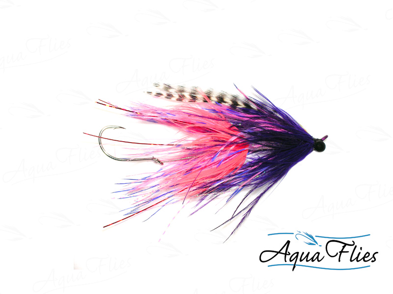 Stus Barred Ostrich Intruder, Pink/Purple