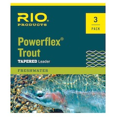 Trout Knotless Tapered Leaders, 3-pack Trout Knotless Tapered Leaders, 3-pack