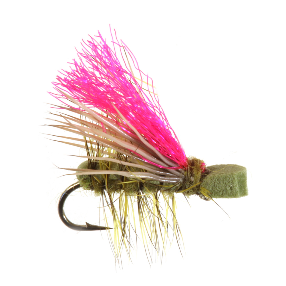 Yeagers Neversink Caddis, Olive Yeagers Neversink Caddis, Olive
