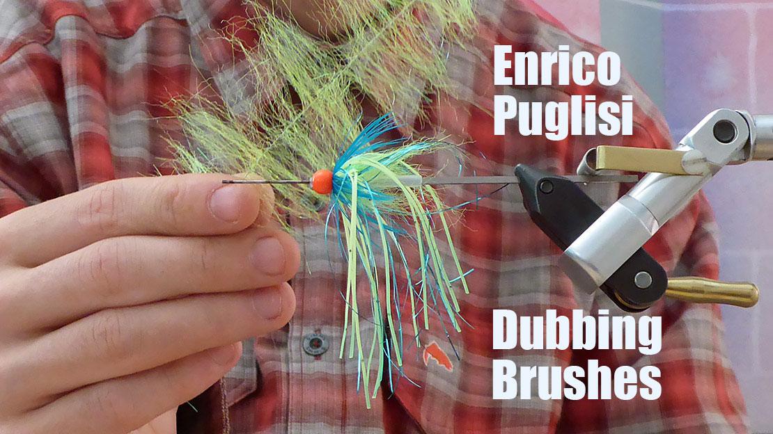 Enrico Puglisi Dubbing Brushes