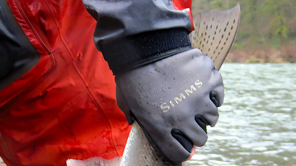 Fly fishing gloves