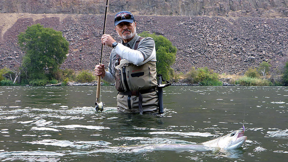 Deschutes River Steelhead Guided Fly Fishing Trips