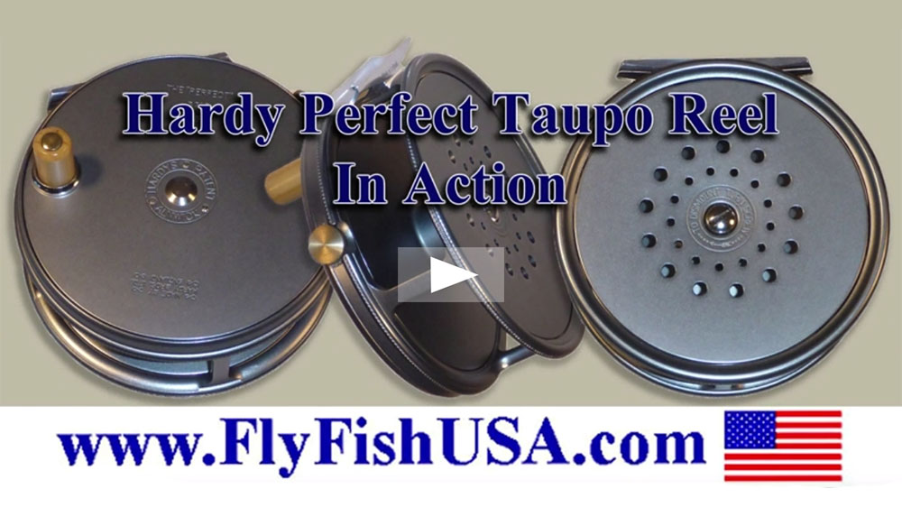 Hardy Perfect fly fishing reels video