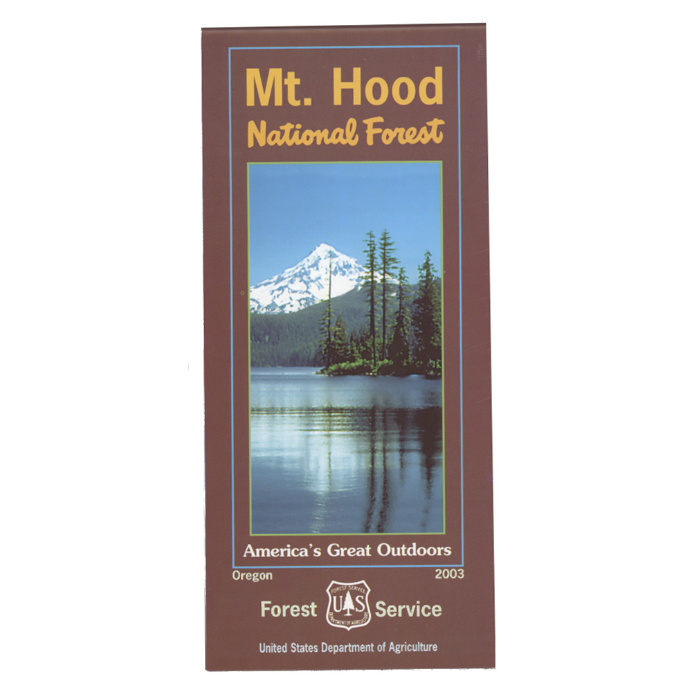 Mt. Hood National Forest Map