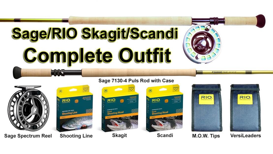 Sage/RIO Skagit/Scandi Complete Year Around Spey Outfit, picture