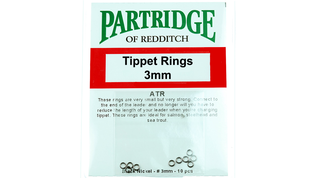 how to connect tippet to leader
