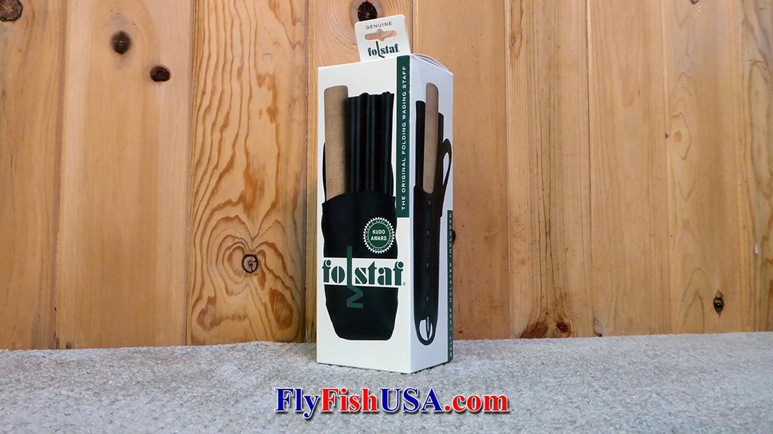Super Folstafs are nicely packaged and make perfect gifts for any angler.