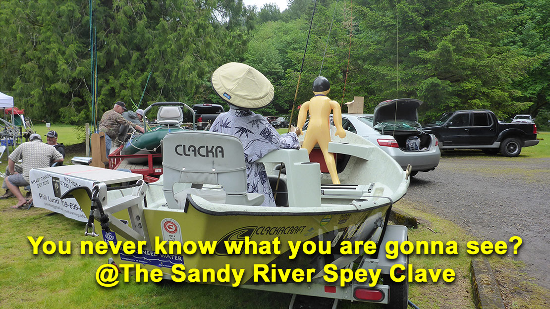 Rich Agenda at 2018 Sandy River Spey Clave