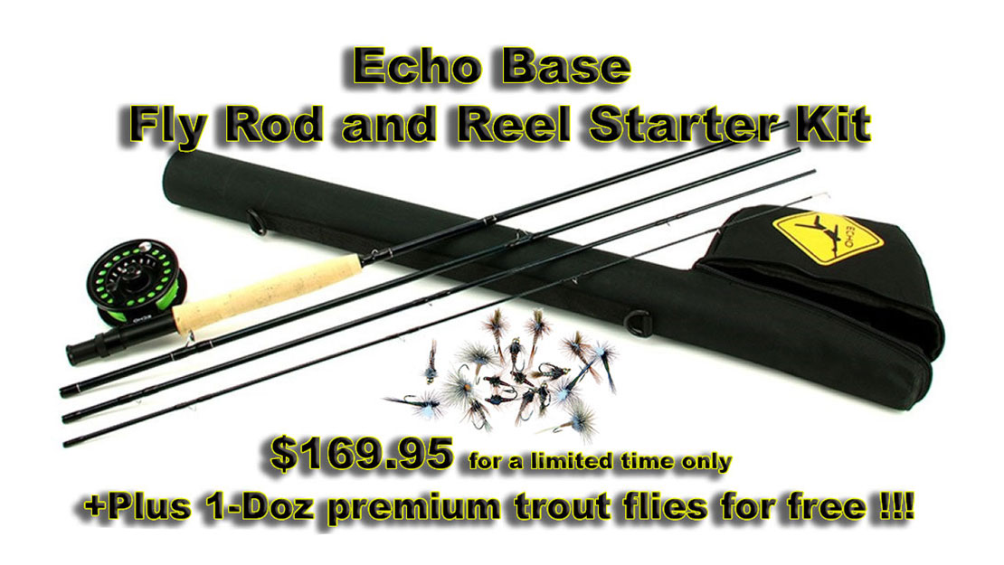 Echo Base Fly Fishing Combo Kit