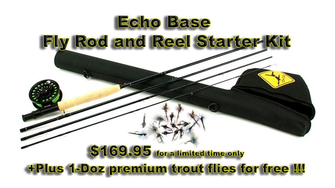 Echo Base Fly Fishing Kit