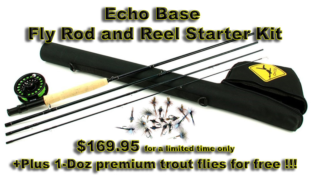 Echo Base Kit with flies, picture