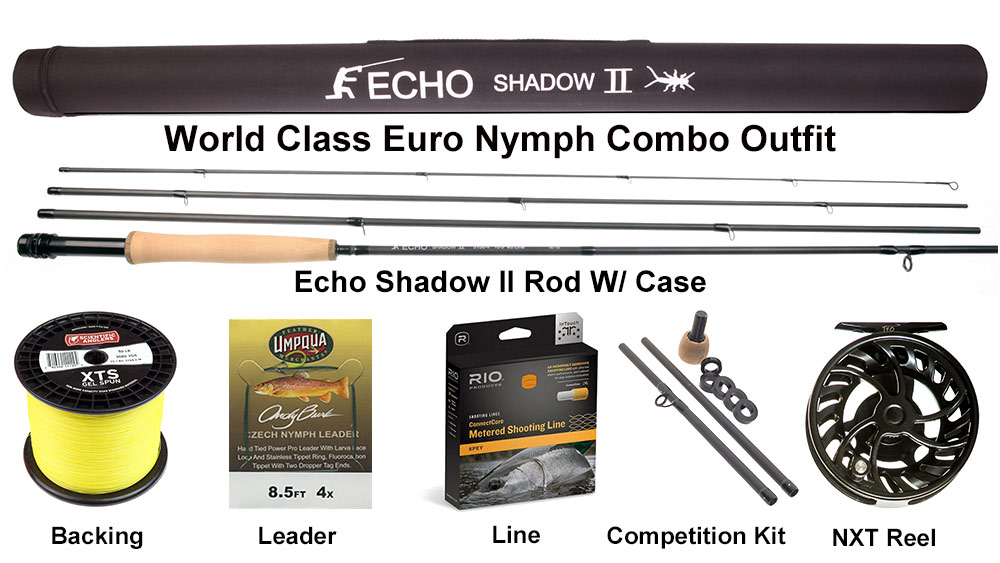 World Class Euro Nymph Combo Outfit 3wt