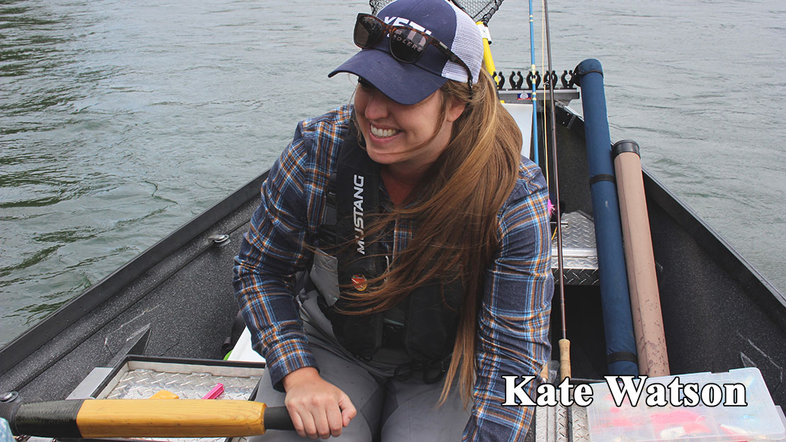 Kate Watson, fly fishing guide, fly tyer and conservationist