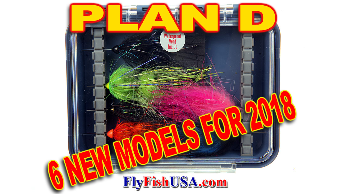 Plan D Fly Boxes New for 2018
