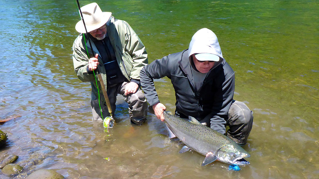 Guided Fly Fishing Trips for: Oregon Spring Chinooks