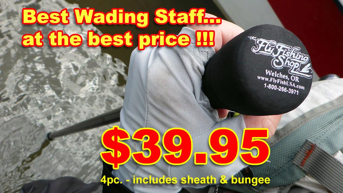 Custom Wading Staff