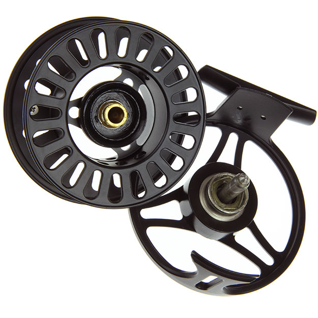 TFO Prism 911 Best Buy Large Arbor Spey Reel, inside, picture