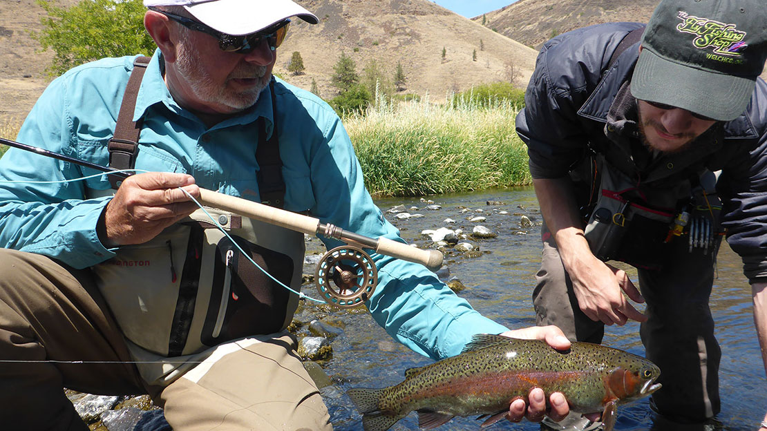 One Day Trout Float Trips on The Deschutes River
