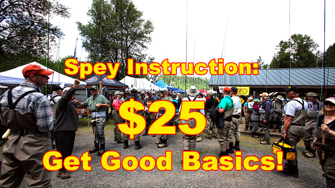 Sandy River Spey Clave Casting Class
