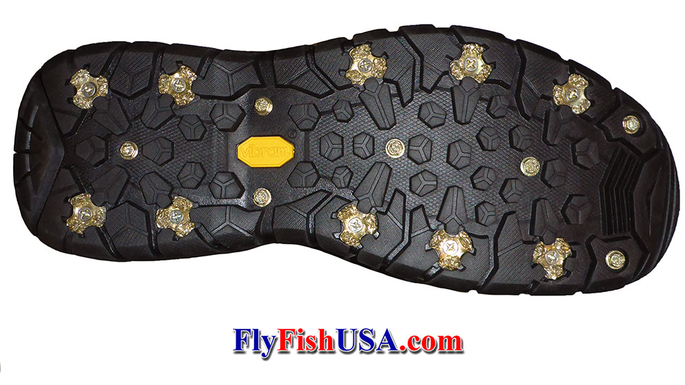 Aggressive Wading Cleat System for G3 Vibram