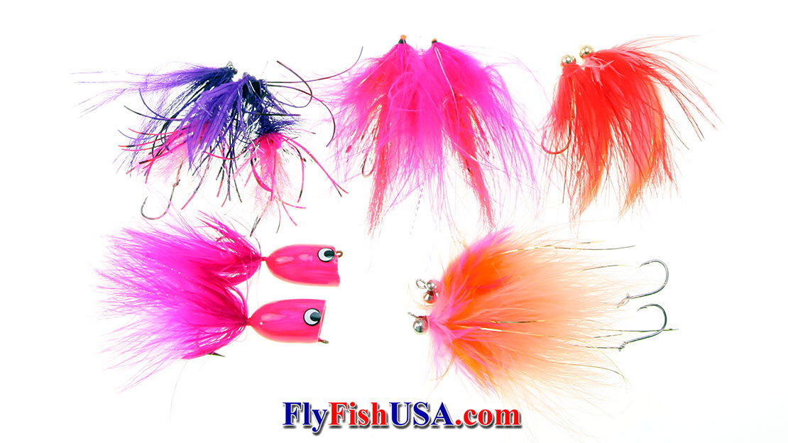 Coho Equalizer Fly Set