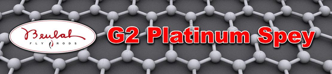 Beulah G2 Platinum Series Spey rods using Graphene matrix technology.