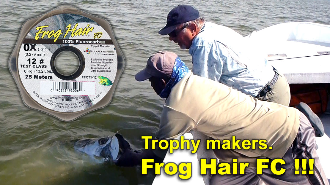 Frog Hair FC Fluorocarbon Tippet
