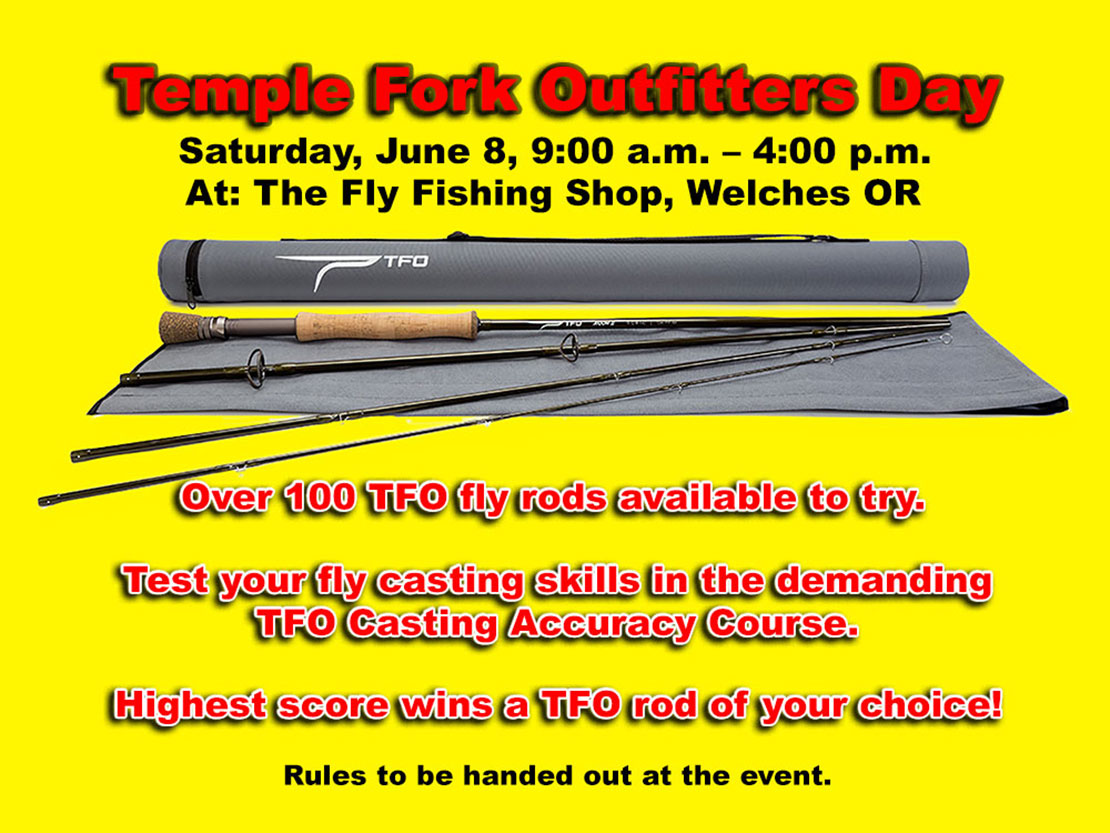 Win a TFO Rod of your choice