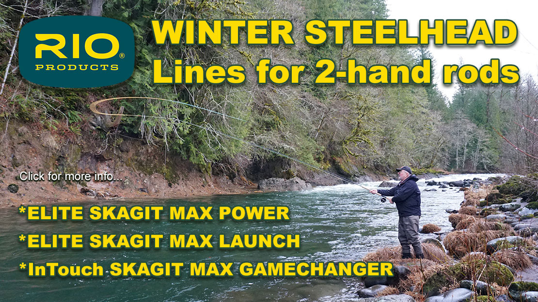 Winter Steelhead Lines for two handed casting