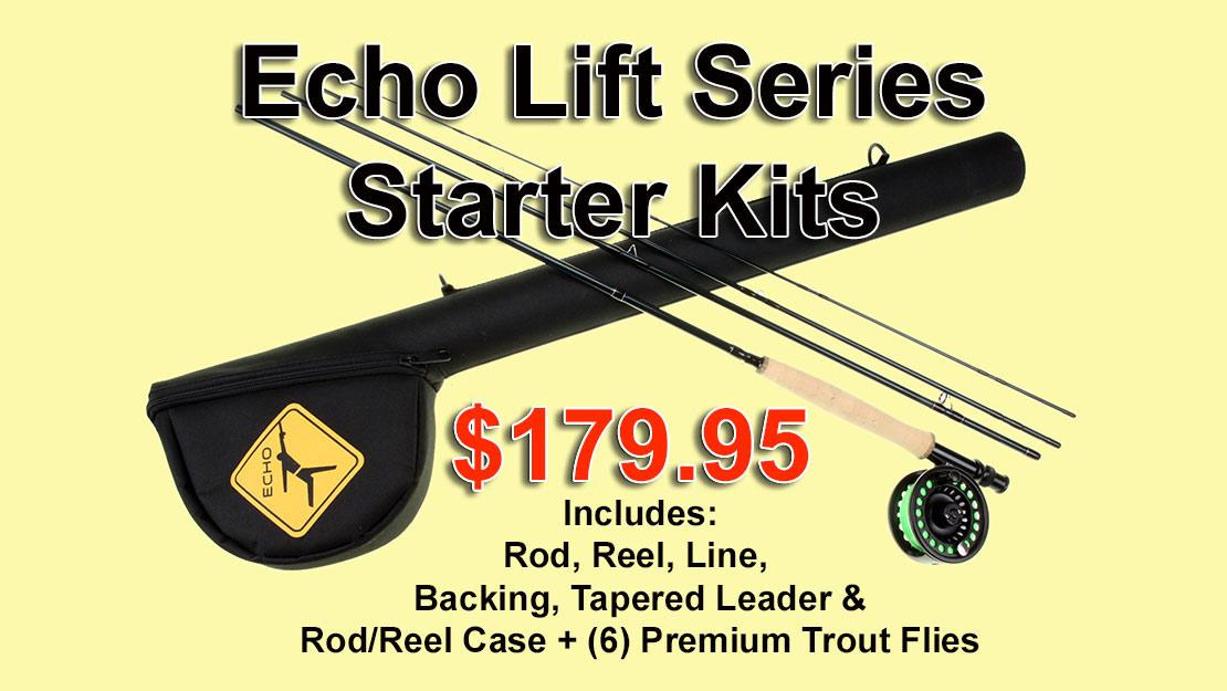 Echo Lift Kit Rod/Reel Entry Level Combo