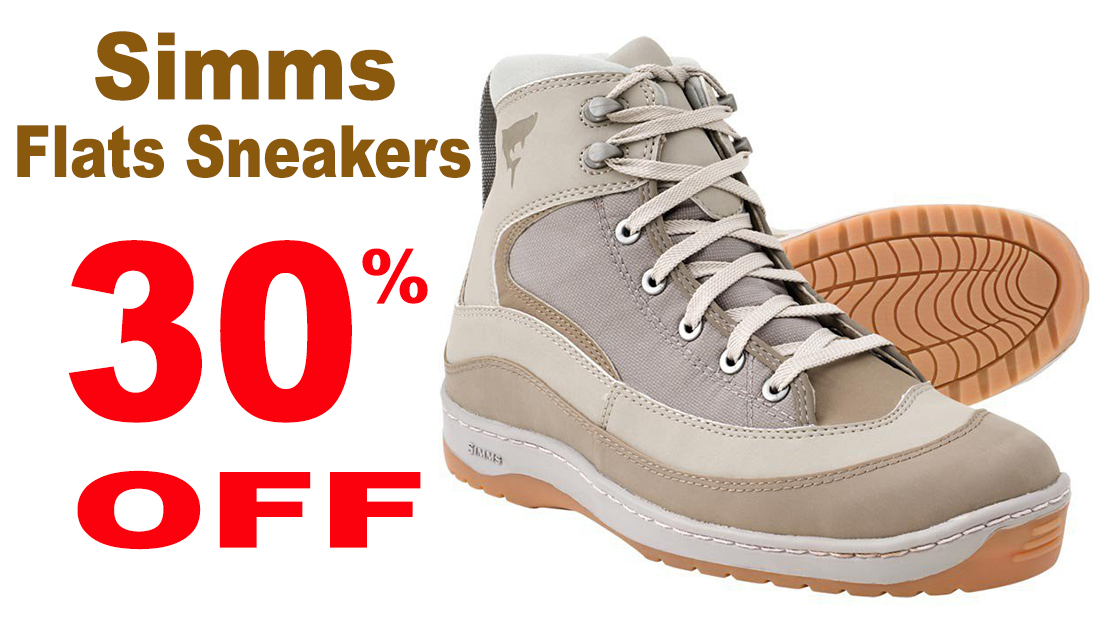 Simms Flats Sneakers on sale