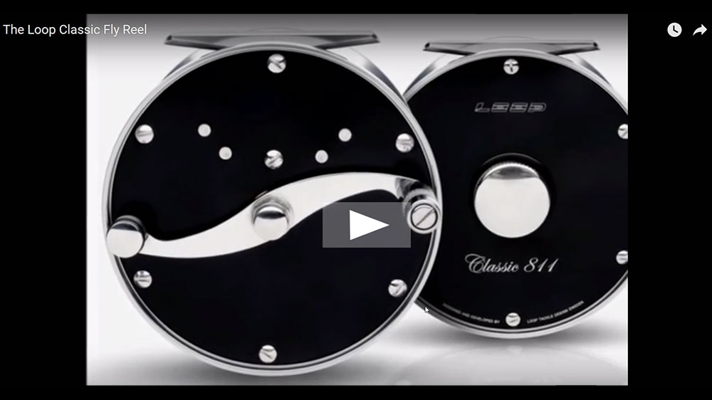 Loop Classic fly fishing reels video