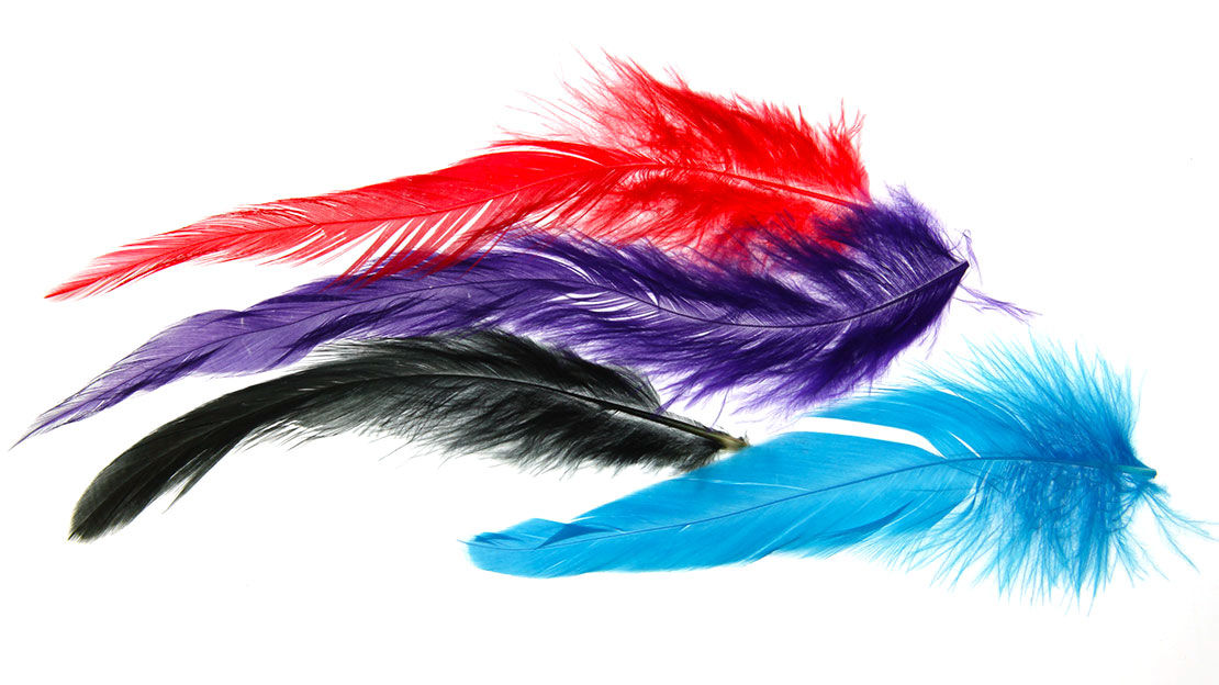 Schlappen wet fly hackle for fly tying
